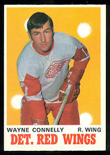 1970 71 OPC O PEE CHEE #159 WAYNE CONNELLY NM DETROIT RED WINGS HOCKEY CARD