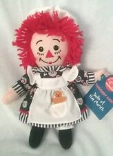 2002 APPLAUSE RAGGEDY ANN DOLLS OF THE MONTH NOVEMBER  CLOTH DOLL PLUSH