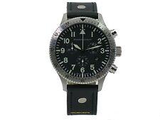Messerschmitt Chronograph ME-5030L Stoppfunktion Datum Quarz wasserdicht 5 atm