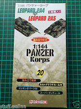 MODERN LEOPARD 2A4 + 2A5 tanks #20 - Dragon 1/144 scale model kit army tank war