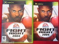 FIGHT NIGHT 2004 XBOX FIGHT NIGHT 2004 XBOX XBOX 360
