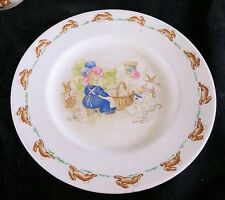 Royal Doulton Bunnykins Plate - signed by Barbara Vernon