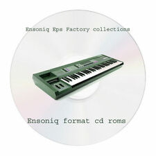 Ensoniq Eps factory sample collection - 2 cd Ensoniq format rom