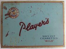 VINTAGE PLAYER'S FLAT 50 CIGARETTE TIN         (INV3122)