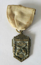 1932 LONG BEACH RIFLE AND REVOLVER CLUB 5 MAN TEAM MEDAL, TV ALLEN CO L.A.