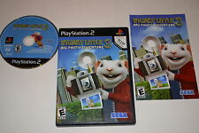 Stuart Little 3 Big Photo Adventure Sony Playstation 2 PS2 Video Game Complete