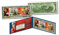 VO NGUYEN GIAP Vietnam Icon & General OFFICIAL Genuine Legal Tender $2 U.S. Bill
