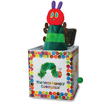 Rainbow Designs THE VERY HUNGRY CATERPILLAR JACK IN THE BOX Baby Toddler Toy BN