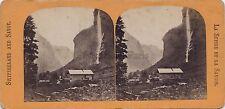 Suisse et Savoie 2 Stéréos Recto Verso Stereoview Vintage Albumine et citrate