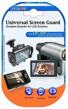 LCD Guard 3 Clear Screen Protector For Sony DSC-HX10V DSC-HX20V DSC-HX200V