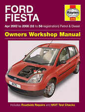 Ford Fiesta Repair Manual Haynes Manual Workshop Service Manual  2002-2008 4170