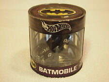NEW 2004 Hot Wheels Batman's Batmobile Die-Cast Car In Can Limited Edition1 Of 3