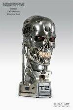 1:1 T-800 Endoskull Endoskeleton Lifesize Bust SIDESHOW Terminator 2 RARE