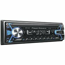 Power Acoustik Single Din PL-50 SD/WMA/MP3 Digital Media Player New Remote