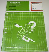 Werkstatthandbuch Volvo 440 Karosserie Reparatur Instandhaltung ab Baujahr 1988!