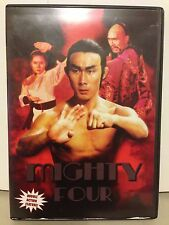 USED DVD: The Mighty Four & Mighty Tae Kwon Do, (2 MOVIES) DISC NEAR MINT