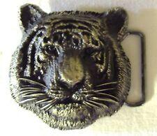 Gürtelschnalle Tigerkopf 3D Tiger Bengaltiger Katze Katzen Großkatzen Buckle