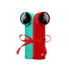 New 2PCS Red & Green HTC RE Waterproof Action Sports 1080P Full HD Camera 16MP