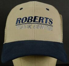 Roberts Truck Center NWT NOS Mesh Trucker Hat Cap with Velcro Adjustable Strap