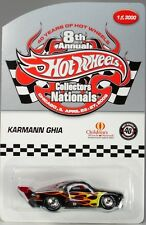 Hot Wheels 8th Nationals  VW Karmann Ghia Charity Car -only 3000 made