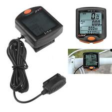 Speed Bike Bicycle Odometer Meter Stopwatch Cycling Speedometer Computer R0A1