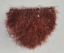 Human Hair Red Merkin Female Pubic Toupee the ultimate fantasy