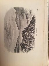 u1-3 ephemera 1890 religious book plate the dead sea
