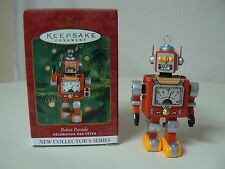 Hallmark Ornament 2000 ROBOT PARADE - 1st in Series NEW Handcrafted & Tin