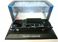 FORD LINCOLN CONTINENTAL LIMOUSINE REAGAN 1981 - 1:43 NOREV ATLAS MODEL VOITURE