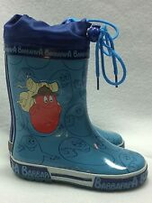 Barbapapa Boys Youth/Toddler 9 Rainboots Blue Barbawum Europe 25