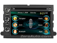 Lincoln MARK LT In-Dash GPS Navigation Bluetooth Radio DVD USB SD iPod MP3 Deck