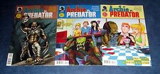 ARCHIE vs PREDATOR #1 2 3 4 1st print complete set DARK HORSE COMIC 2015 NM AVP