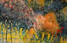 Maurizio Del Vecchio olio/tela 70x110.no cascella crippa baj ialenti , da norcia