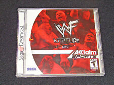WWF WWE Attitude (Sega Dreamcast)     ***BRAND NEW FACTORY SEALED***