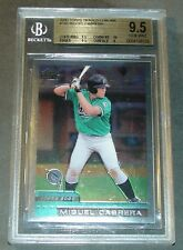 2000 TOPPS CHROME TRADED MIGUEL CABRERA ROOKIE BGS 9.5  SUBS 9.5,9.5,10,9 PSA