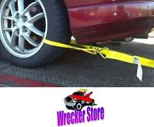 ROLLBACK CARRIER SPORTS CAR Damage Free TIE DOWN STRAPS **Easy to Use** SET of 4