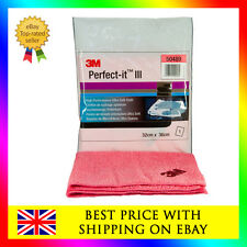 3M 50489 Perfect-it III 1x Ultra Soft pink cloth for 80345 polish rosa and other