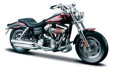 Harley Davidson Modell, 2009 FXDFSE CVO Fat Bob (29), Maisto Motorrad 1:18