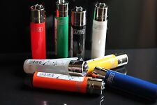 8 pcs Brand New Refillable Clipper Lighters