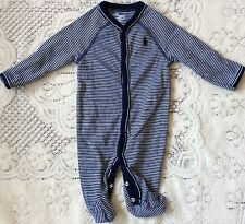 New Baby Boys Ralph Lauren Romper 3M