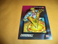 Cannonball # 5 1992 Marvel Universe Series 3 Base Impel Trading  Card