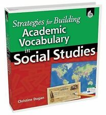 STRATEGIES FOR BUILDING ACADEMIC VOCABULARY IN - CHRISTINE DUGAN (HARDCOVER) NEW