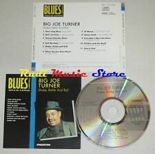 CD BIG JOE TURNER Shake rattle BLUES COLLECTION 1993 DeAGOSTINI mc lp dvd vhs