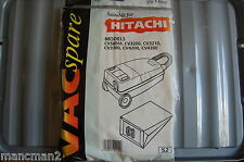 VAC SPARES VACUUM BAGS NO 52 FOR HITACHI MODELS CV
