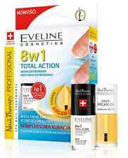 EVELINE 8IN1 TOTAL ACTION CONCENTRATED NAIL CONDITIONER + NOURISHING ARGAN OIL
