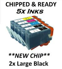 NOW INK 5 HP 364 XL CHIPPED Ink Cartridge for Photosmart 5510 5515 5520 5524 651