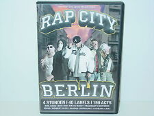 "*****DVD-VARIOUS ARTISTS""RAP CITY-BERLIN""-2005 Mantikor Entertainment*****"