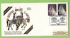 G.B. 1972 Silver Wedding set on Royal Lancers First Day Cover, BFPS 1922