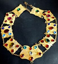 Antique Jewelry Costume Religious Theatrical Rare Piece Necklace