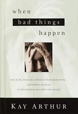 When Bad Things Happen: God Is Big Enough to Handle Your Questions? and Strong..
